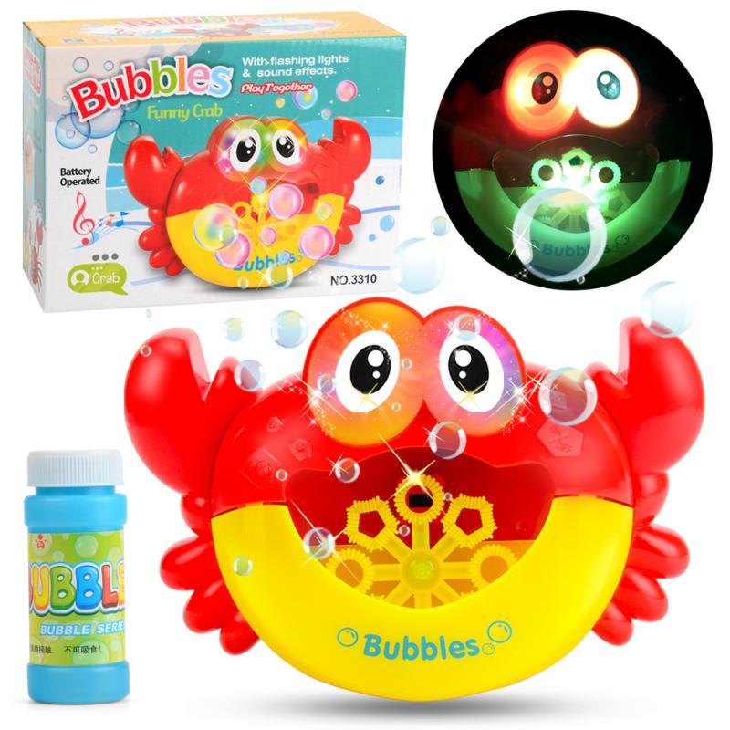 Bublající krab do vany