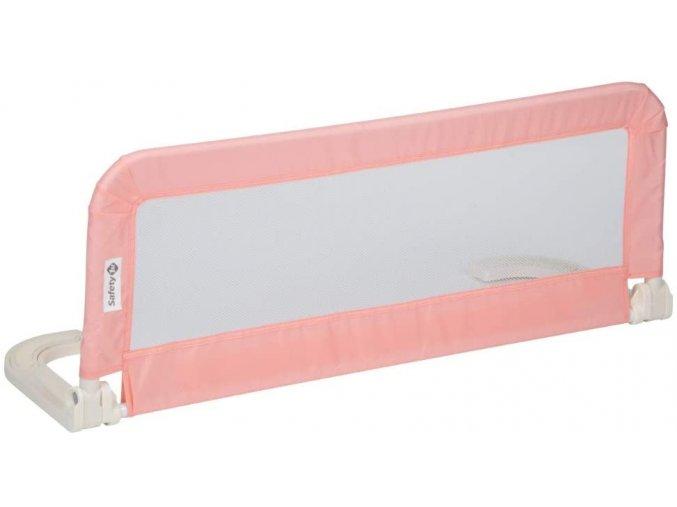 Zábrana na postel růžová