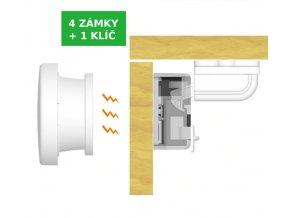 Magnetický zámek na skříňku a nábytek