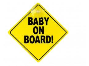 Safety 1st Štítek Baby On Board Yellow