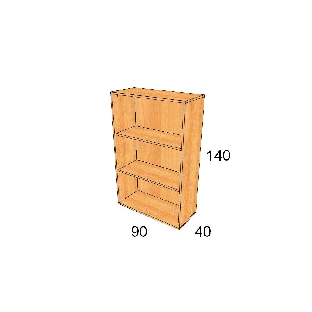 Regálová skříň, Art. 2400
