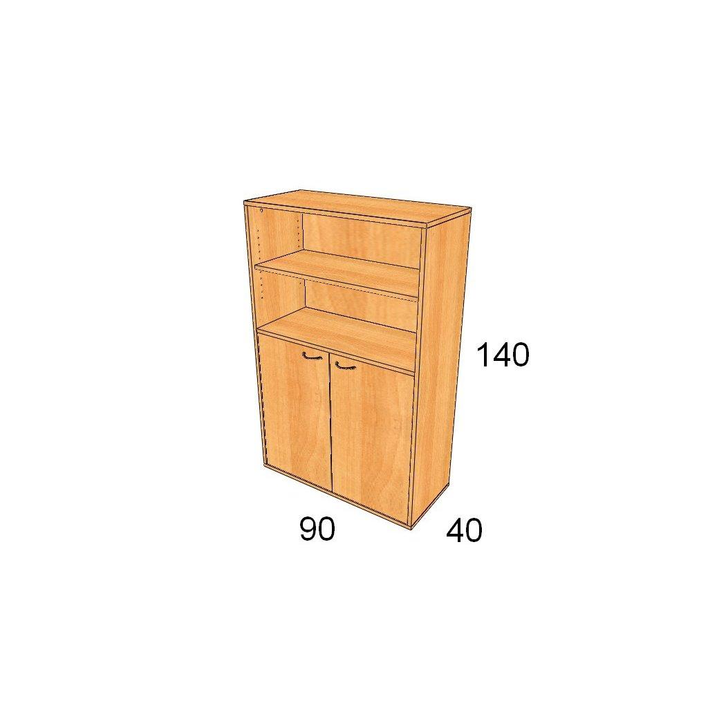 Dveřová skříň, Art. 2404