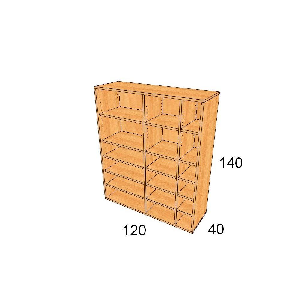 Policová skříň, Art. 3400