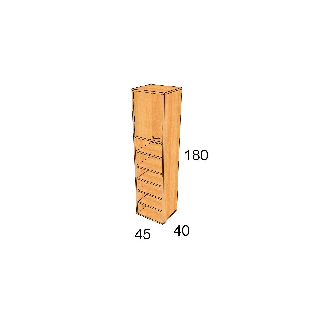 Dveřová skříň, Art. 1509