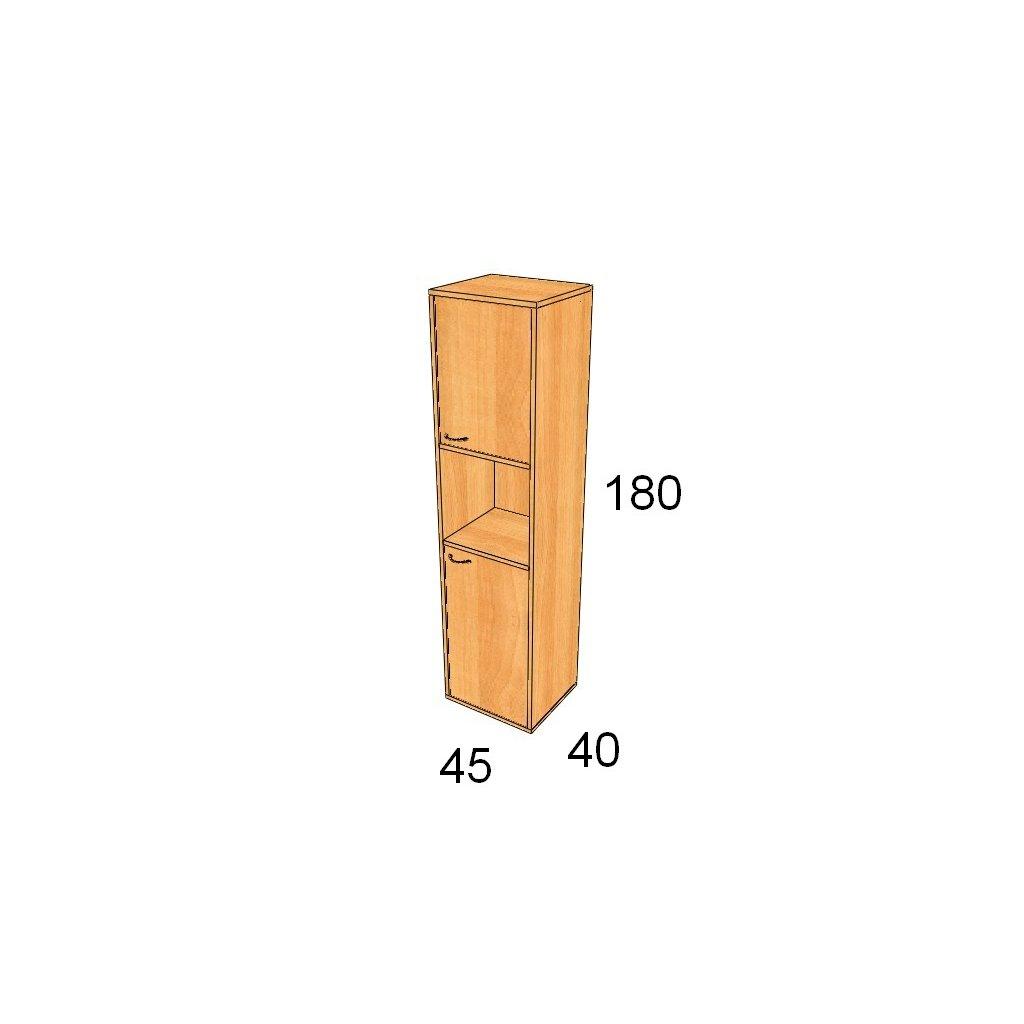Dveřová skříň, Art. 1517