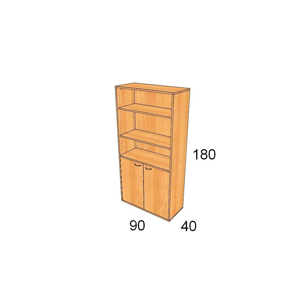 Dveřová skříň, Art. 2505