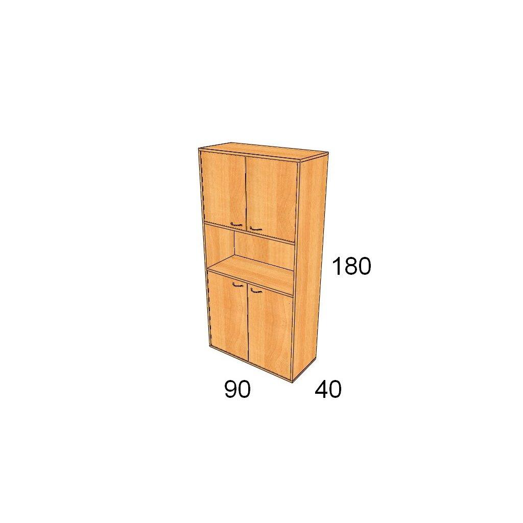 Dveřová skříň, Art. 2507