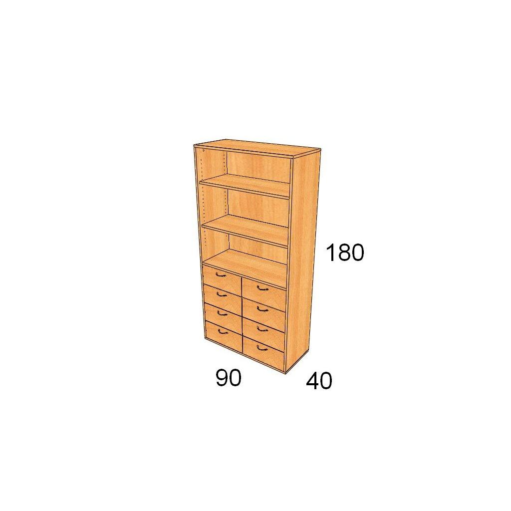 Zásuvková skříň, Art. 2506