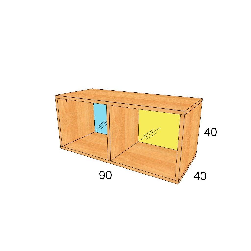 Zadní stěna plexisklo, Art.2226