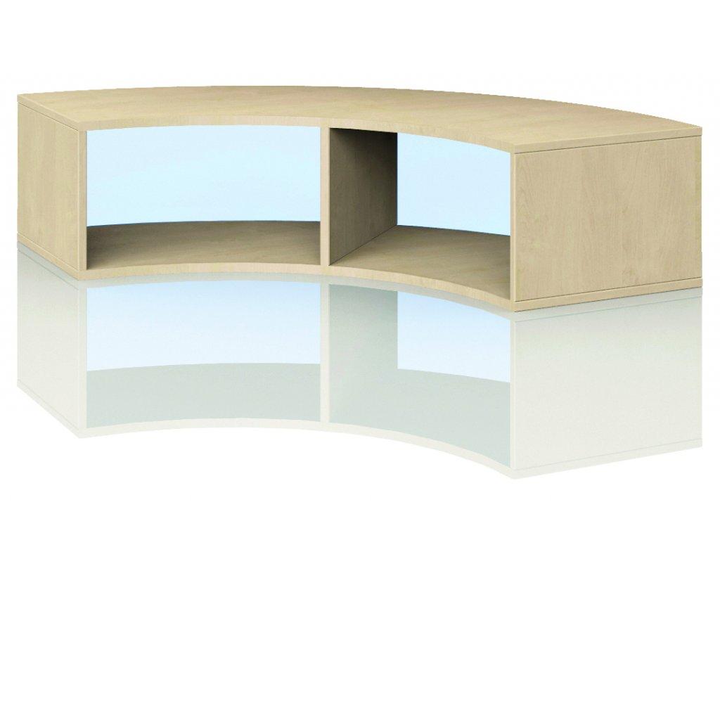 Čtvrtkruhová skříň, Art. 4101