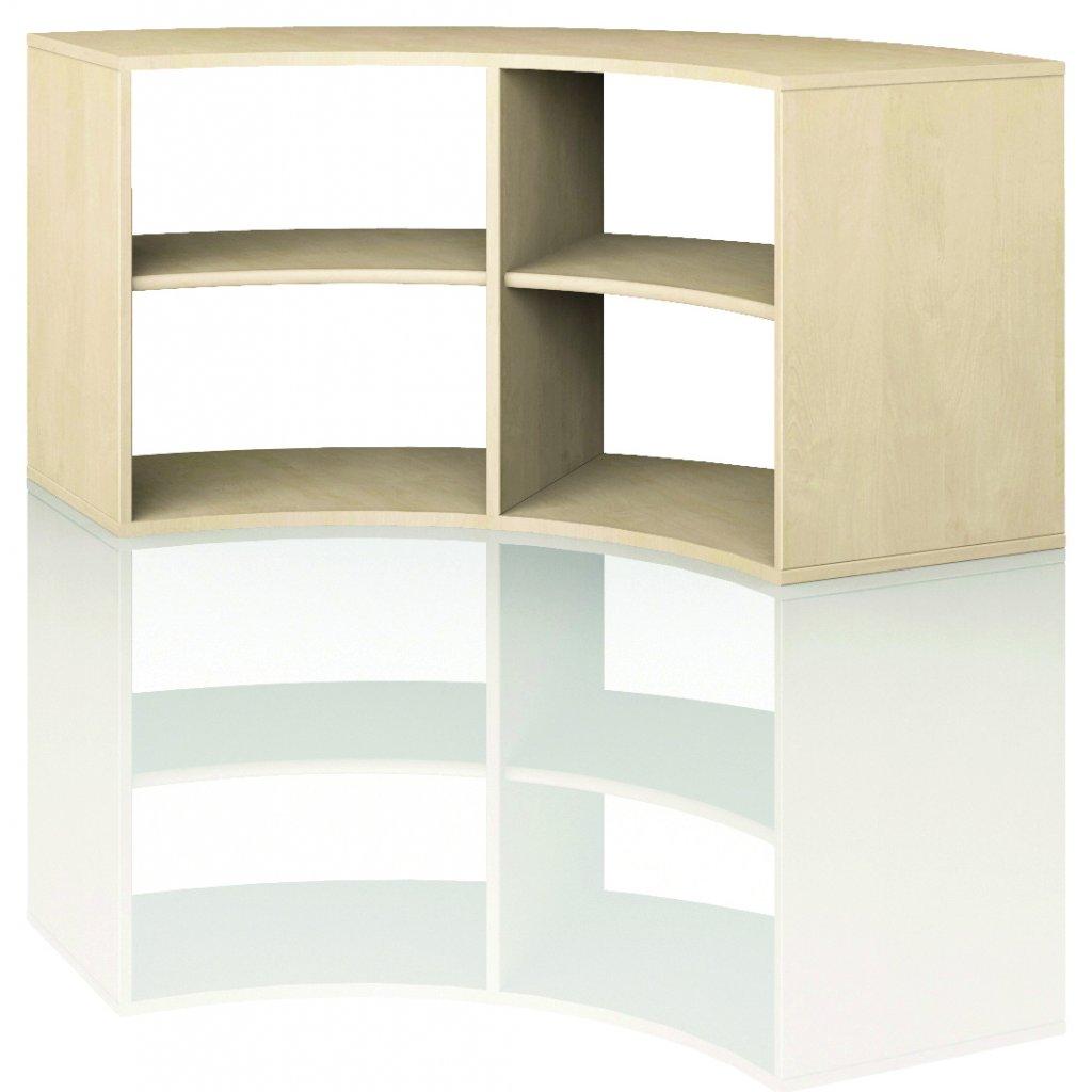 Čtvrtkruhová skříň, Art. 4200