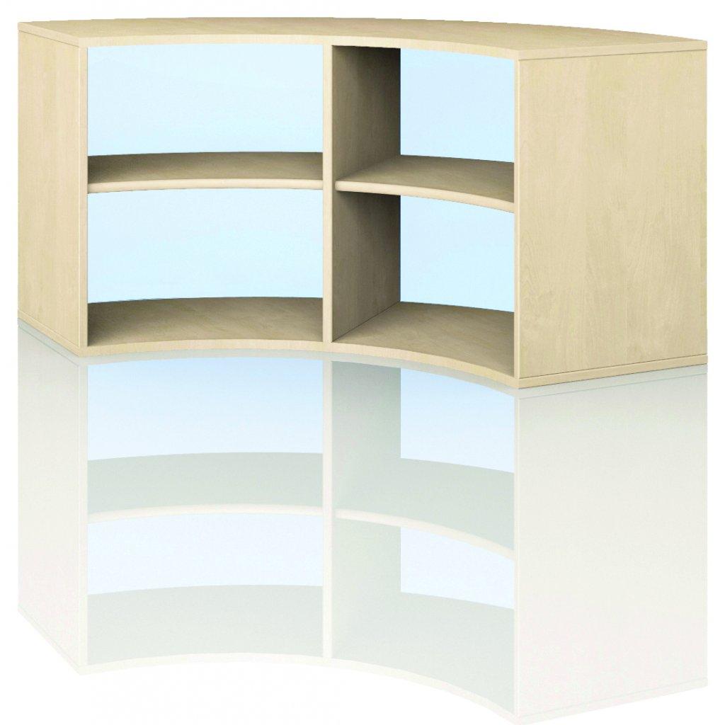 Čtvrtkruhová skříň, Art. 4201