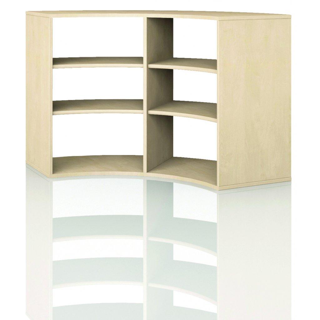 Čtvrtkruhová skříň, Art. 4300