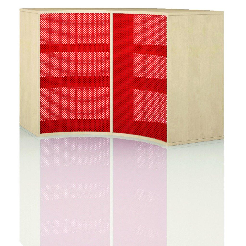 Čtvrtkruhová skříň, Art. 4304