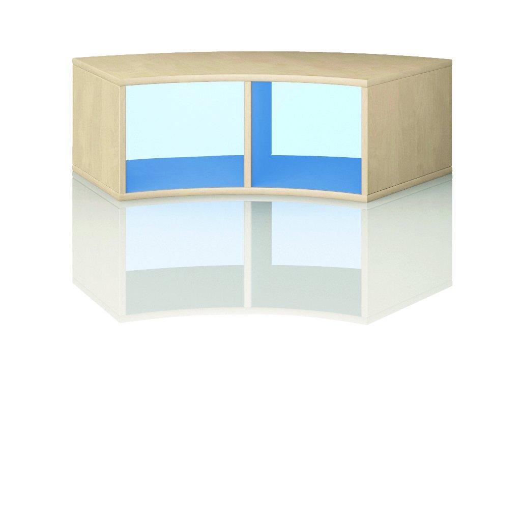 Čtvrtkruhová skříň, Art. 4112