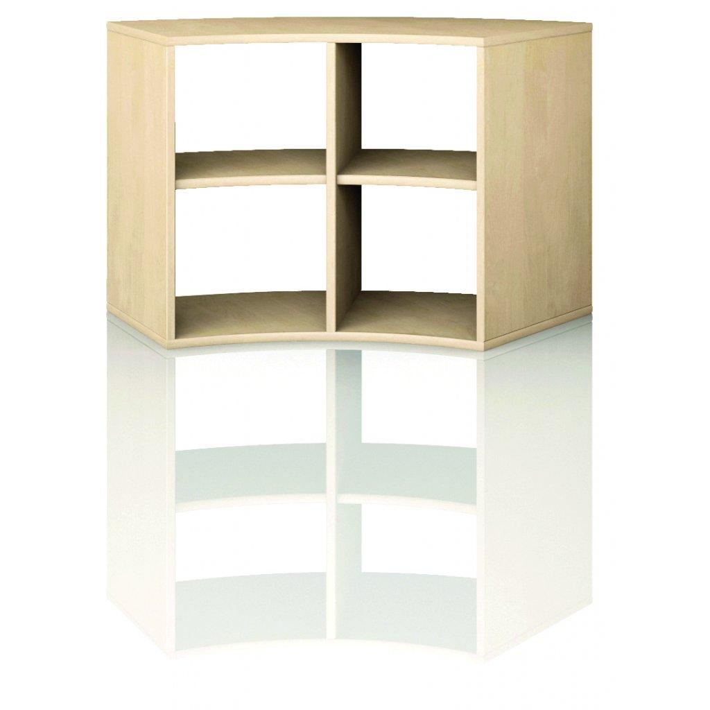 Čtvrtkruhová skříň, Art. 4210