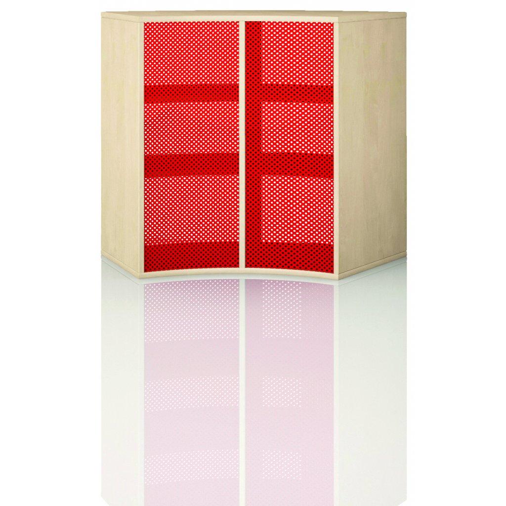 Čtvrtkruhová skříň, Art. 4314
