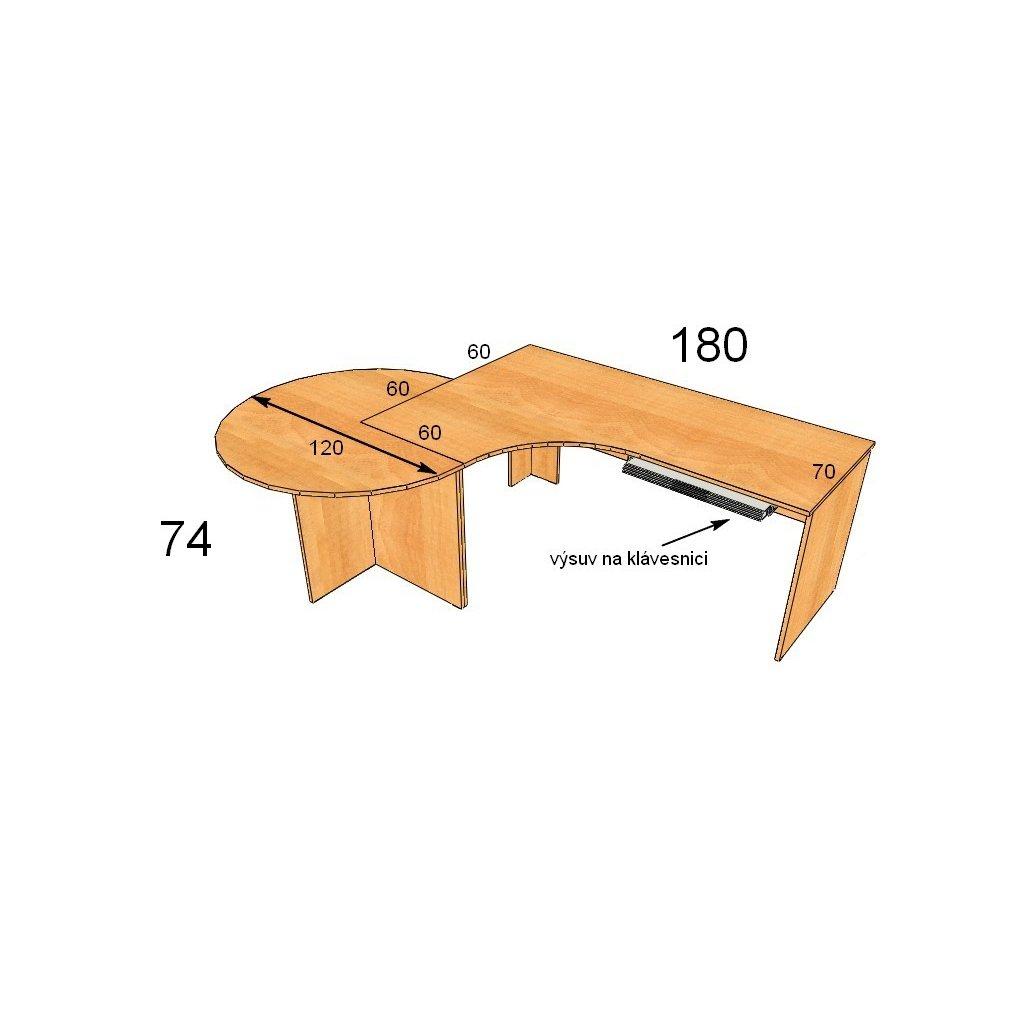 Kancelářský stůl, Art. 20099-35