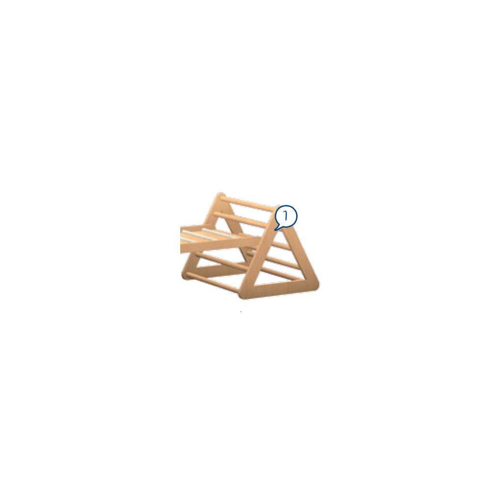 Trojúhelník s příčkami, Art. 75510