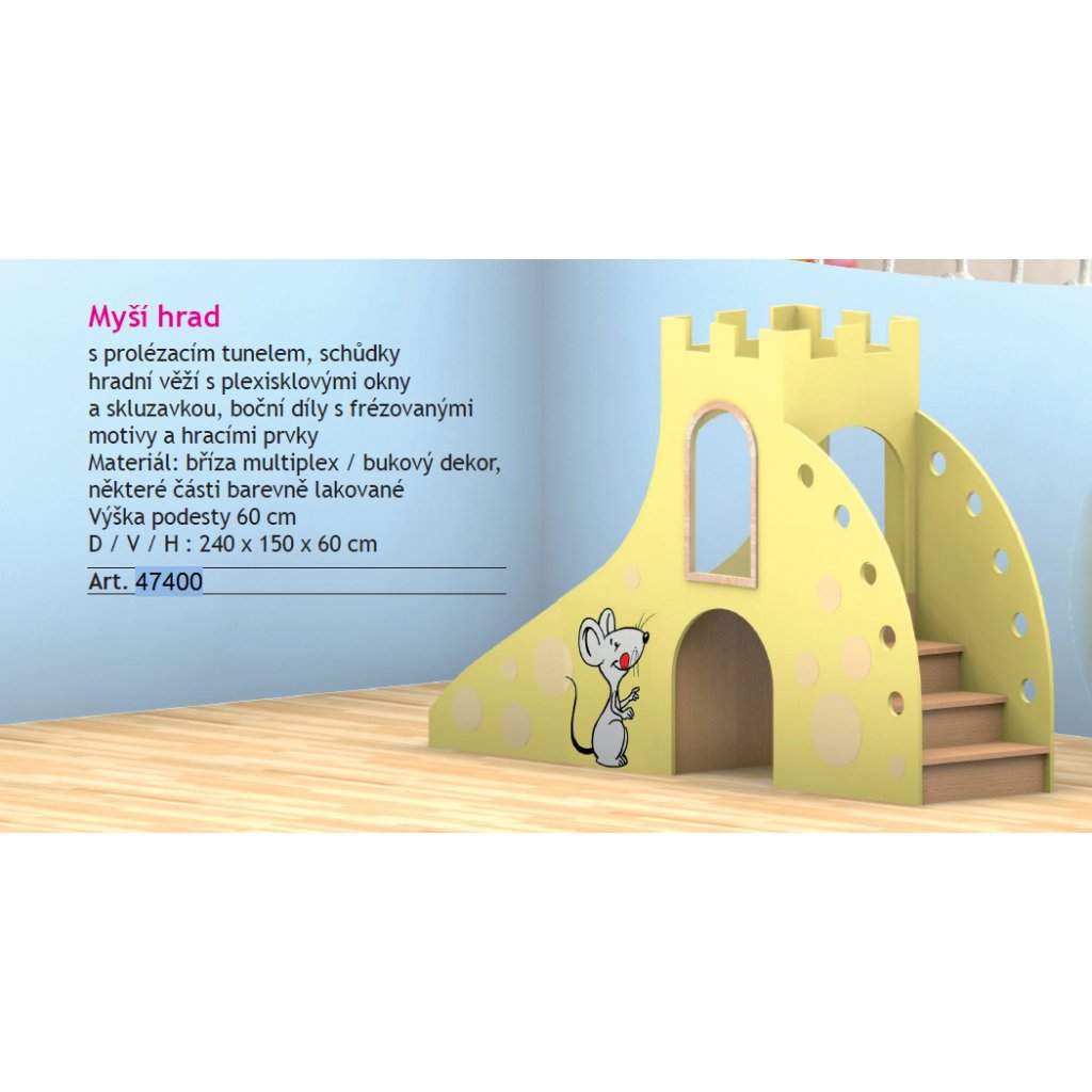 Myší hrad, Art. 47400