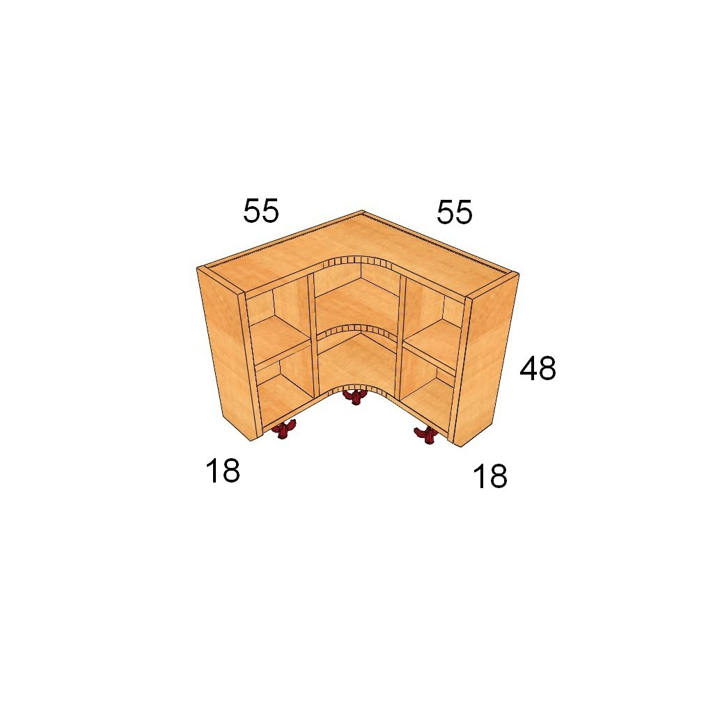 Horní velký vnitřní roh art. 60085