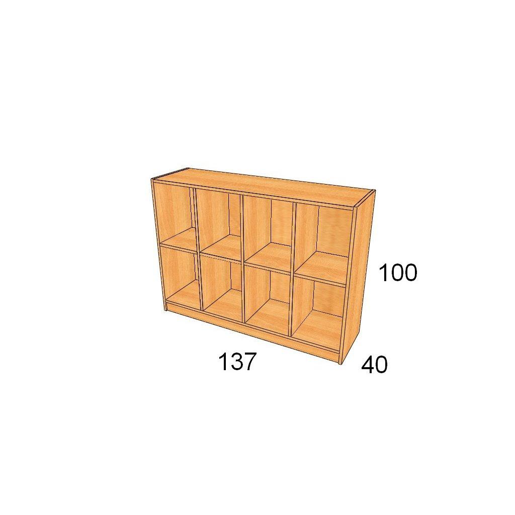 Skříň na tašky Art.  26002-1