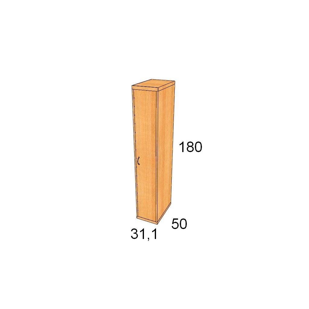 Magic Hill šatní 31,1 x 180 x 50