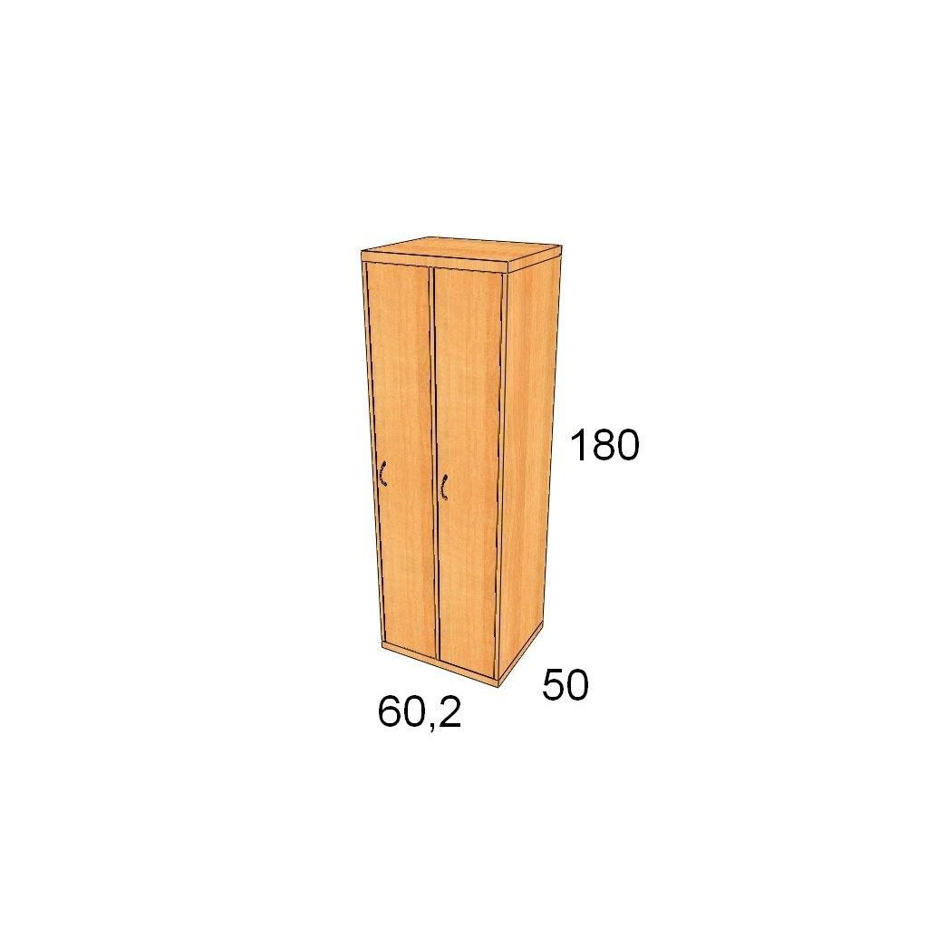 Magic Hill šatní 60,2 x 180 x 50