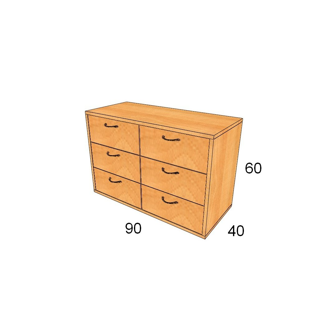 Zásuvková skříň, Art. 2206