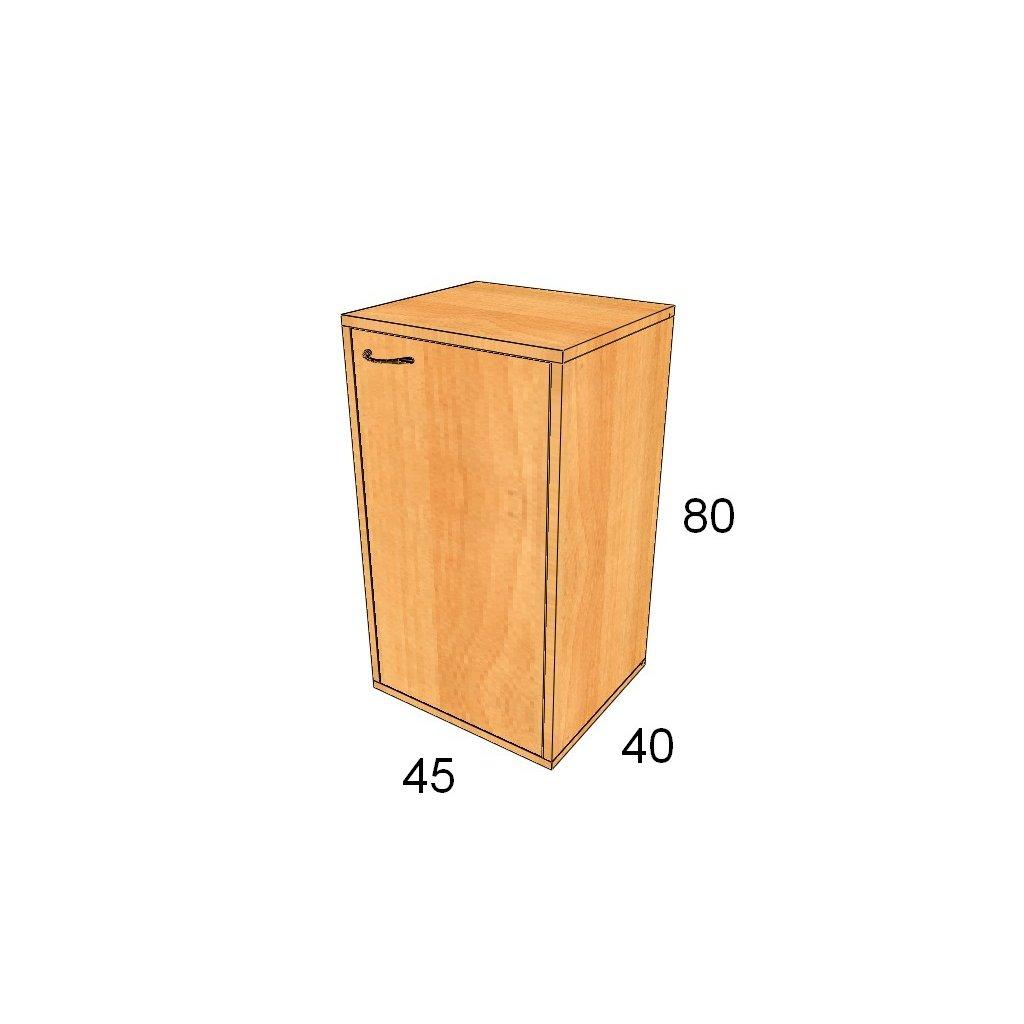 Dveřová skříň, Art.1303