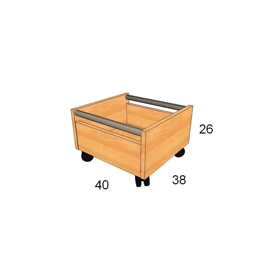 Zásuvka pod skříně, Art.2310