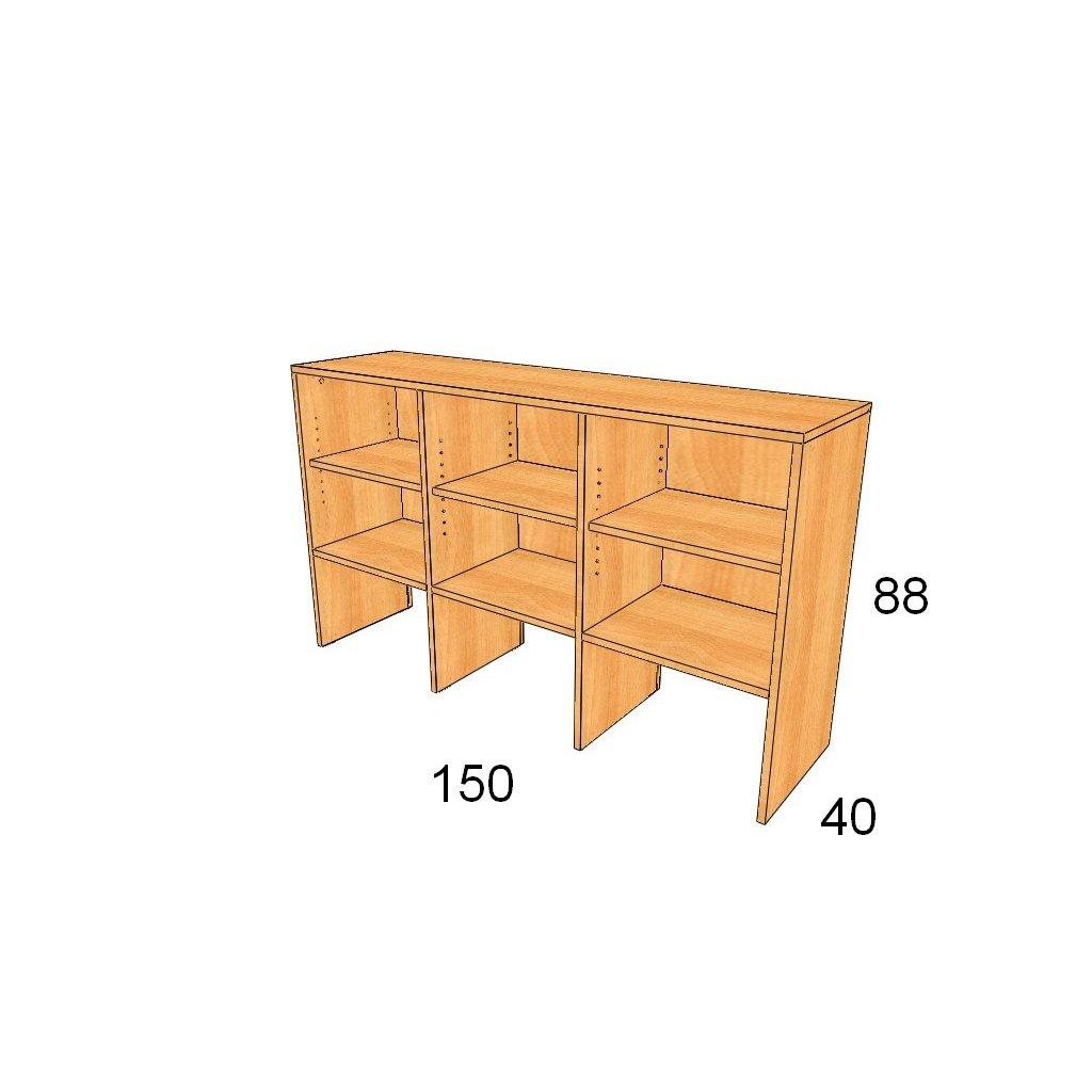 Policová skříň, Art.3010