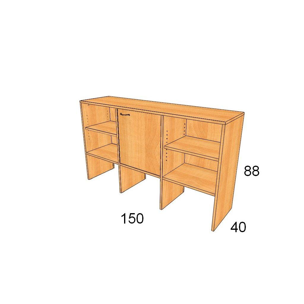 Dveřová skříň, Art.3012