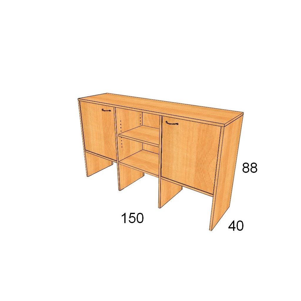 Dveřová skříň, Art.3013