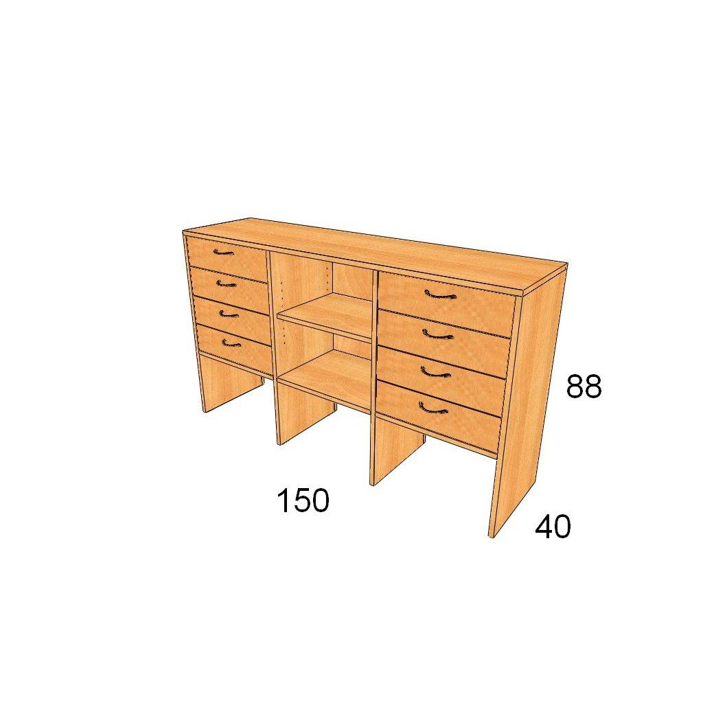 Zásuvková skříň, Art.3016