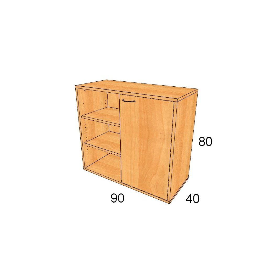 Dveřová skříň, Art.2316