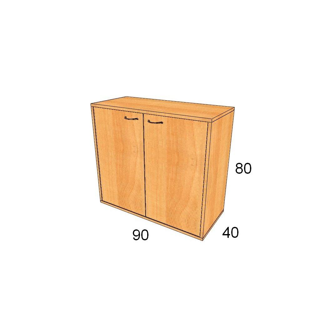 Dveřová skříň, Art.2304