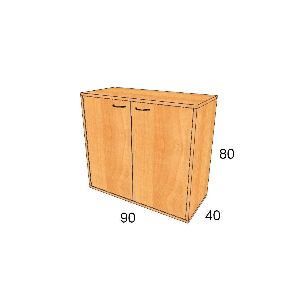 Dveřová skříň, Art.2305
