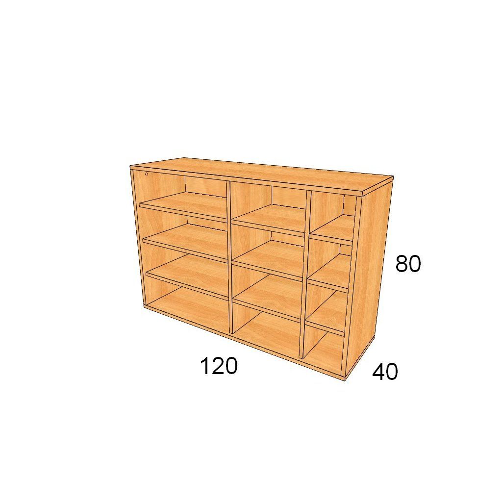 Policová skříň, Art.3301