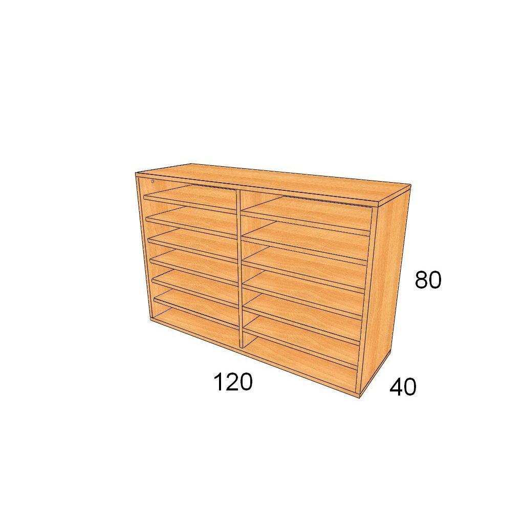 Policová skříň, Art.3304