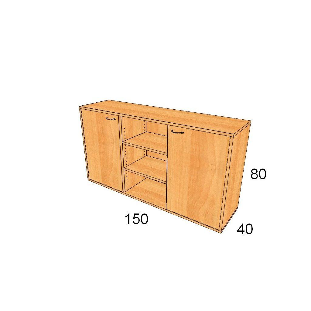 Dveřová skříň, Art.3003
