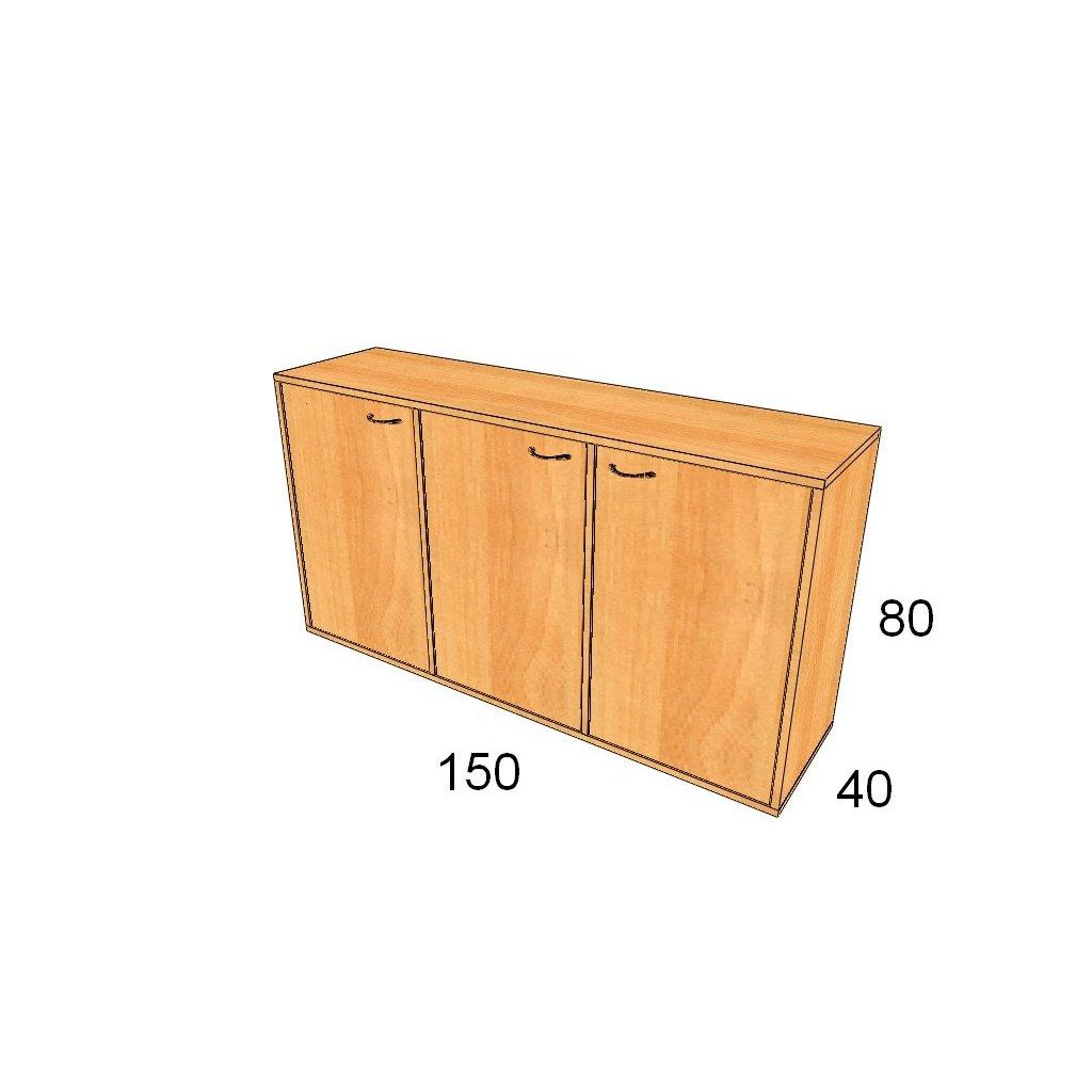 Dveřová skříň, Art.3004