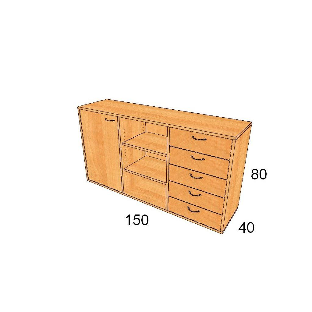 Dveře/zásuvky, Art.3006