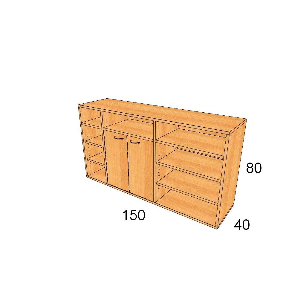 Dveřová skříň, Art.3009