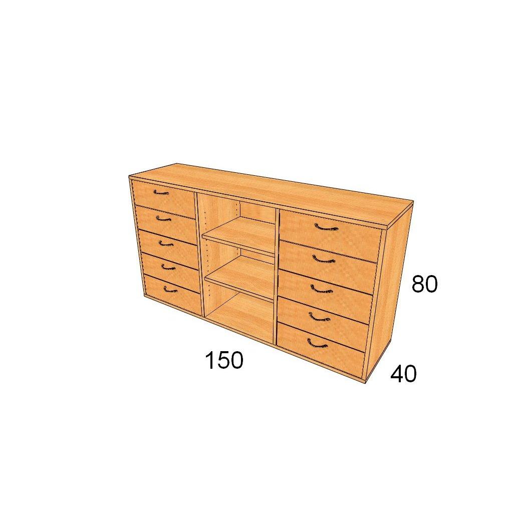Zásuvková skříň, Art.3008