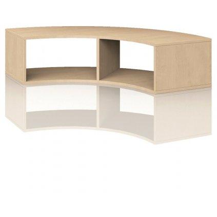 Čtvrtkruhová skříň, Art. 4100