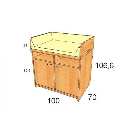 Přebalovací pult, Art. 25005