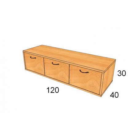 Zásuvková skříň, Art. 3102