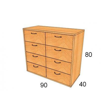 Zásuvková skříň, Art.2306