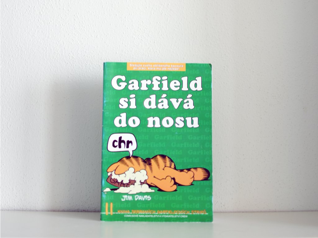 garfield si dava do nosu